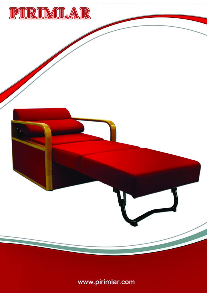 furma tekli yatakli koltuk