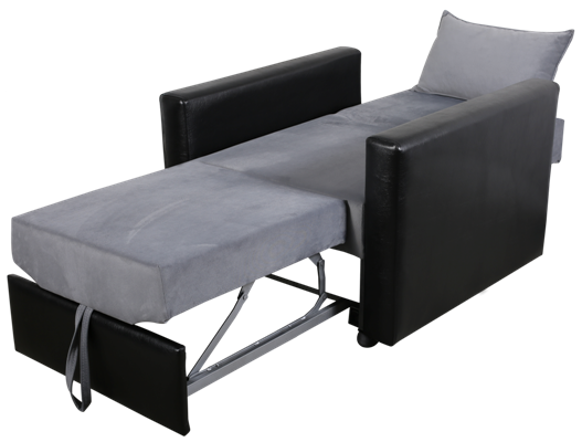 soft tekli yataklı koltuk